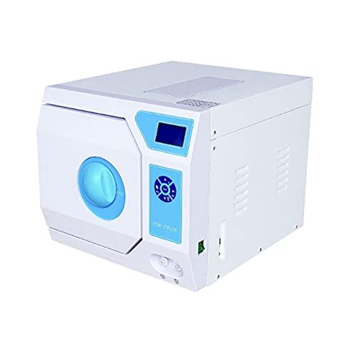 8L Lab Mini Benchtop Autoclave Sterilizer Vacuum Philadelphia Mall Steam Max 86% OFF 1.5KW