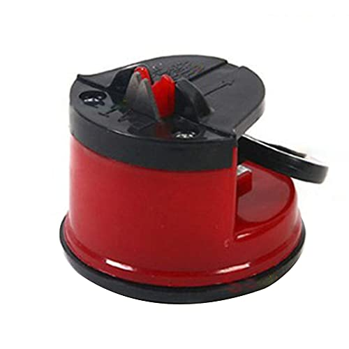 Greatangle-UK Mini Affilacoltelli Con Ventosa Famiglia SuperSharp Affilatrice Strumento Cucina Gadget Tungsteno Acciaio
