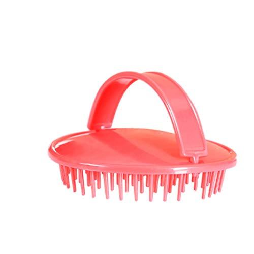 Diaod Masaje de Silicona de Mano Cepillo de Masaje Shampoo Shower Peine Peine Masaje de Peinado Cepillo Portátil Baño SPA Shampoo Peine