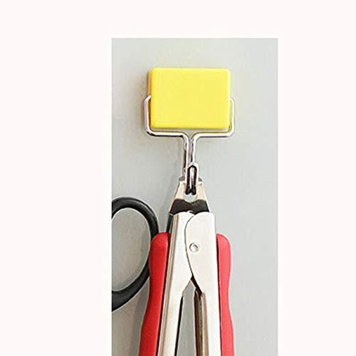 FYstar Kreatives Design Lochfreier Bonbonfarbenhaken Magnethaken Multifunktionaler Nahtloser Haken Home Magnethaken