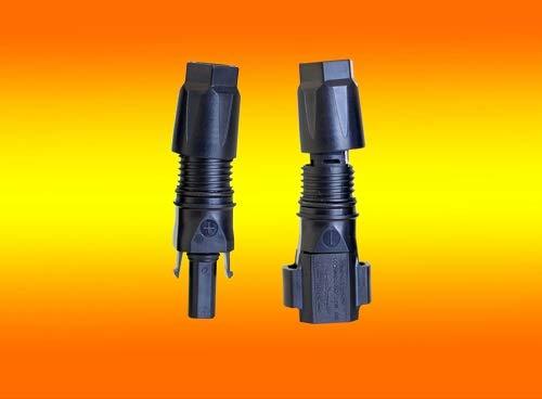 2 Paar Sunclix Stecker 2,5-6mm² für Solar PV Kabel von bau-tech Solarenergie