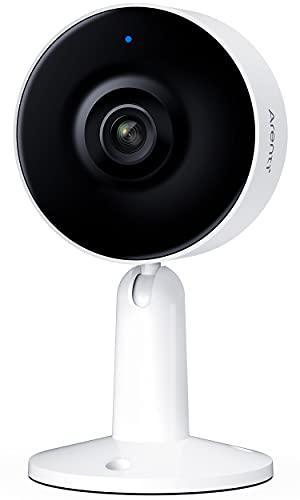 Arenti Überwachungskamera Innen WLAN Kamera, 1080P FHD Sicherheitskamera Nachtsicht Onvif IP Kamera, IN1 2-Wege-Audio Bewegungserkennung Home Security Camera, 1PC
