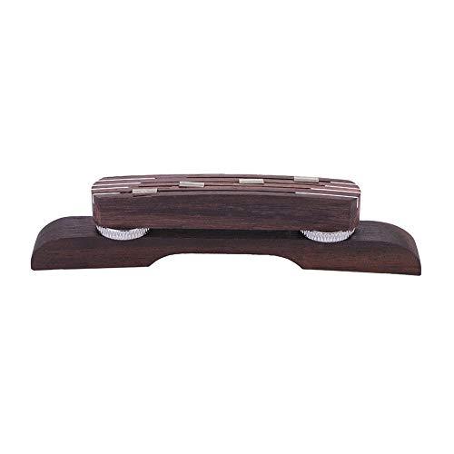 Elegante Puente de mandolina, Accesorio de mandolina, artesanía Fina, Tienda de Piano, hogar para músico de mandolina