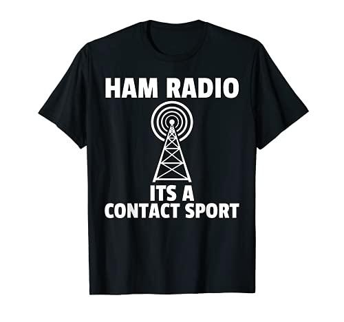 Jamón Radio Regalos Amateur Radio Camiseta