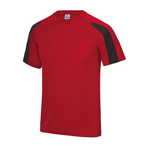Awdis - Camiseta de manga corta con colores a contraste