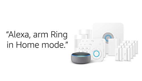 Ring Alarm 14 Piece Kit + Echo Dot (3rd Gen), Works with Alexa