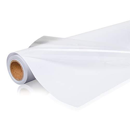 GREENIA Klebefolie (60cm*5m) - transparente selbstklebende Folie zum Schutz glatter Oberflächen - wasserdicht und schmutzabweisend - Inkl. einfacher Montageanleitung