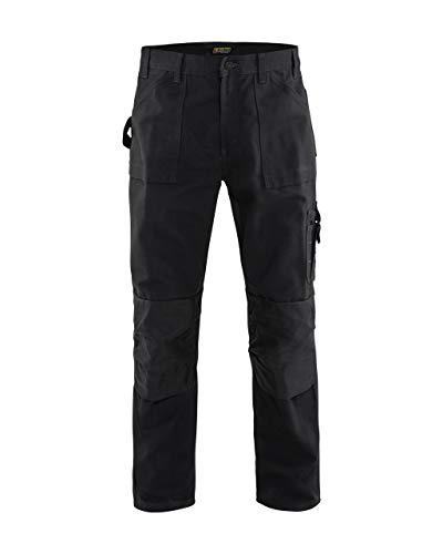 Blaklader Brawny Work Pants - No Utility Pockets Black 30 32