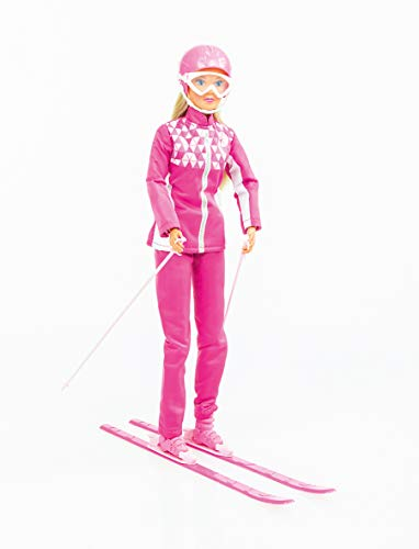 Simba – Steffi Love Ski – Puppe Mannequin 29 cm – Paar Ski + Helm und Brille – 105733462
