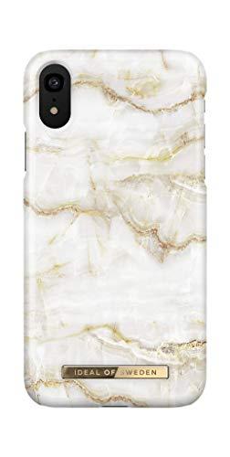 IDEAL OF SWEDEN Handyhülle für iPhone XR (Golden Pearl Marble)