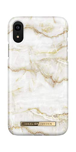 iDeal Of Sweden Handyhülle für iPhone XR (Golden Pearl Marble)