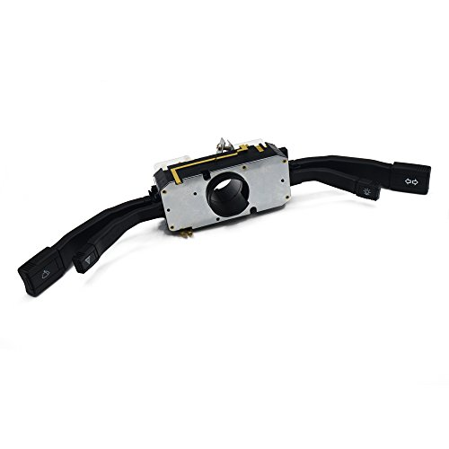 TGJYK Indicador de sedán Señal de Giro/Dimmer/Interruptor de combinación de luz de Aparcamiento 443953513 / Ajuste para Audi 80 B3 B4 90 100 C3 C4 200 (Color : Black)