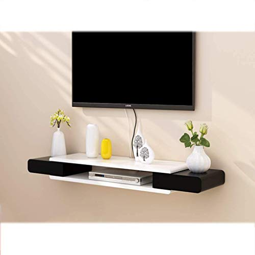 Floating Shelf Floating Wall Mounted Shelf TV Cabinet Media Console TV Shelf TV Stand TV Console Bracket Stand for Streaming Devices/Xbox One/PS4/Cable Box/DVD Players/Game Console