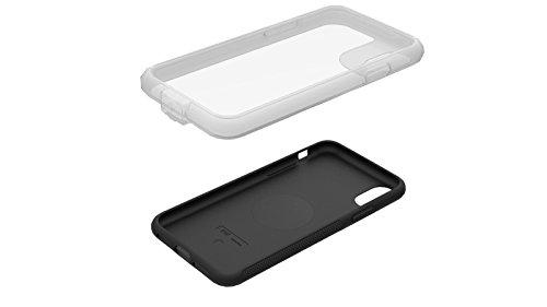 Zéfal Z Console Cover Smartphone e Custodia di Pioggia iPhone/Samsung–Compatibile Supporto Bicicletta/Moto, Ciclismo, 7079H, Nero, Coque iPhone X/XS