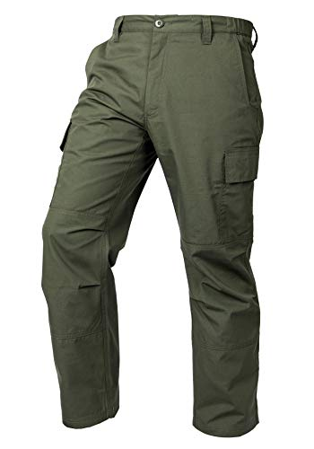 LA Police Gear Mens Core Cargo Lightweight Work Pant - OD Green - 36 X 30