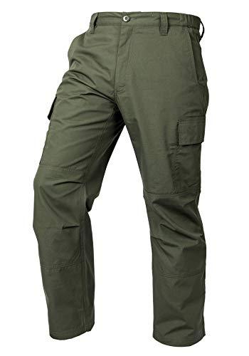 LA Police Gear Mens Core Cargo Lightweight Work Pant - OD Green - 30 X 30
