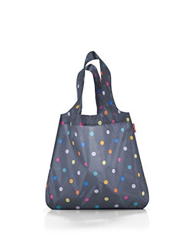 Reisenthel Family Bag - Borsa della spesa, poliester, Blu (Marine dots), 43.5x 60x 7cm