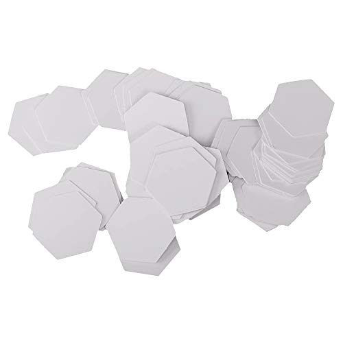 POFET 500 Stück Hexagon English Paper Piecing Quilting Templates Craft - 26mm