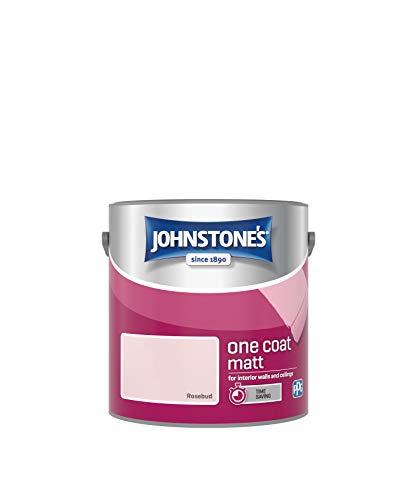 Johnstone's 389516 One Coat Matt, Rosebud, 2,5 litros