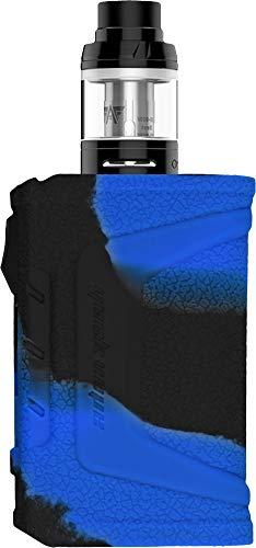 Preisvergleich Produktbild Baluum Hülle für GeekVape Aegis Legend in Schwarz / Blau E-Zigaretten Schutzhülle aus Silikon ähnlichen TPU