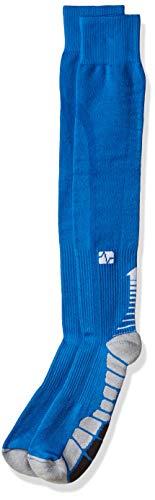 VitalSox Italia VT1211 Silver Drysat - Calcetines de compresión graduados patentados, Unisex adulto, Calcetines de compresión graduados., VT1211, gris, medium