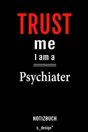 Notizbuch für Psychiater / Psychiaterin: Originelle Geschenk-Idee [120 Seiten kariertes blanko Papier]