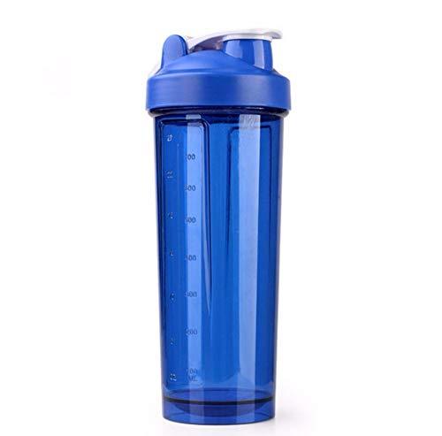 caomei Shake fles blauw water fles sport wei eiwit poeder gemengde fles fitness waterfles 700 ml