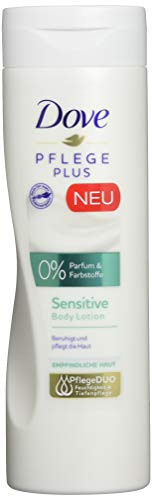 Dove Body Lotion Pflege Plus Sensitive, 250 ml