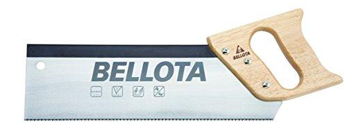Bellota 4561-12 SERRUCHO Costilla Mango Madera 300MM, Negro, 300 mm