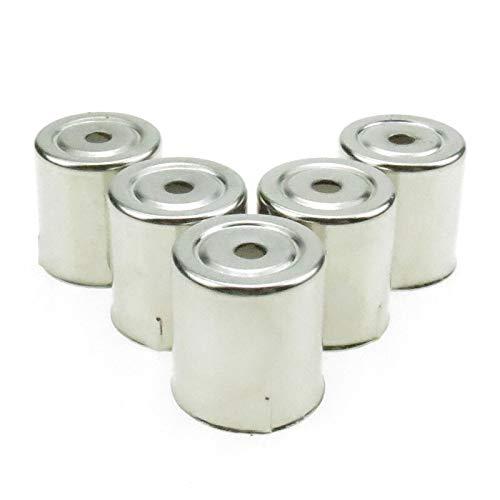 Accesorios para Microondas 5pcs / Acero Inoxidable Holón Redondo Magnetron Caps para Piezas de reemplazo de microondas para Tapas de hornos de microondas Kits De Instalación De Microondas
