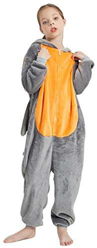 Silver Basic Unisex Pyjama Onesie Tier Fasching Halloween Kostüm Sleepsuit Cosplay Overall Pyjama,Drache,M2