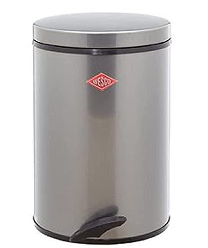 Wesco 117 212-13 Tretabfallsammler Softer 13 Liter, graphit