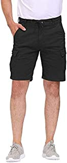 Sponsored Ad - CHEXPEL Mens Cotton Cargo Shorts Relaxed Fit Multi-Pocket Outdoor Shorts