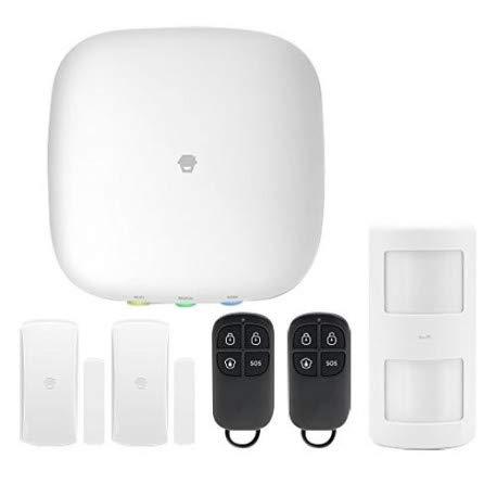 Chuango H4plus Sistema de Alarma WiFi/gsm Smart Home Compatible con Alexa y Philips Hue.