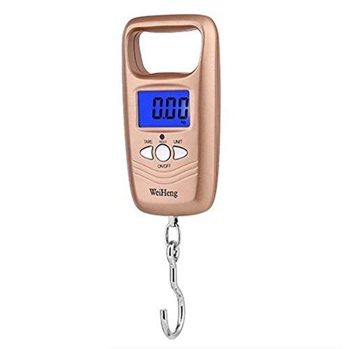 Digitale Visschalen, 110 Ib/50 KG Multifunctionele Handheld Elektronische Schaal, Draagbare Digitale Hangende Schaal met Backlight LCD Display voor Vissen Bagage - Batterij Aangedreven