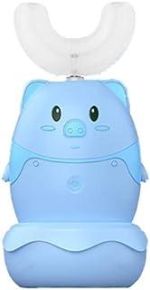 Orale Reiniging Automatische kinderen elektrische zachte gelhoofd met siliciumdioxide borstelhoofden timing tandenborstels...