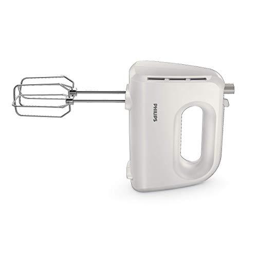 Philips Cucina HR3705/00 Sbattitore Elletrico, Collezione Daily Bianco, 300 W