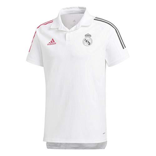 adidas Herren Real Poloshirt M weiß