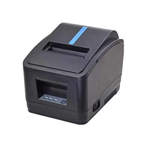 Receipt Printer, 80MM USB LAN Ethernet Pos Thermal Kitchen Printer, MUNBYN Windows Printer with Auto Cutter Support DHCP Auto Set IP Address