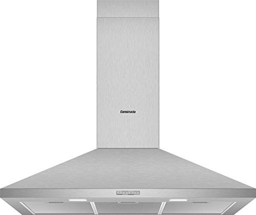 CONSTRUCTA CD619650 Wandhaube/Edelstahl / 90 cm/LED Beleuchtung