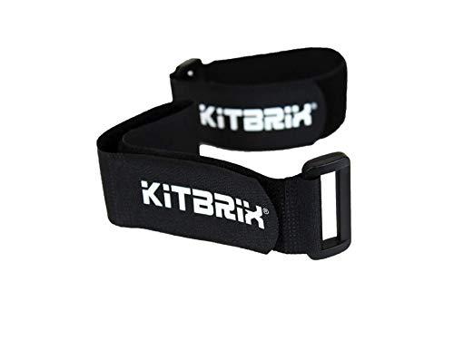 KitBrix 5 x Kitstraps Sport-Kit Organizer Gurte — für Triathlon, Schwimmen, Laufen, Radfahren, organisiertes Kit