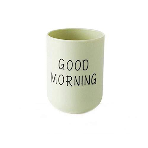 LLAAIT Nordic Style Plastic Tandenborstel Cup Reizen Mondwater Eenvoudige Plain Cup Paar Tandenborstel Cup voor Badkamer,G