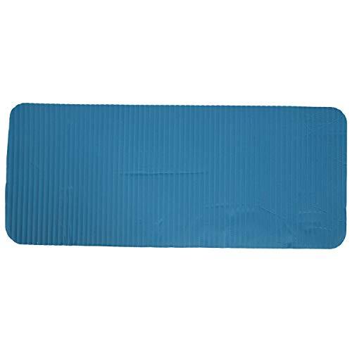 Ctzrzyt Colchoneta para Entrenamiento de Pilates 60X25X1.5Cm de Espesor Cojín de Rodilla de Yoga Soporte Extra para Rodillas Muuecas Codos Azul