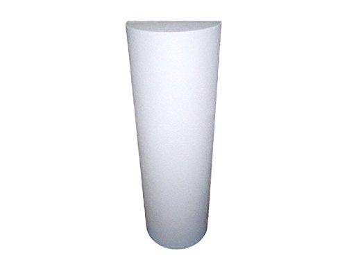600Watt Infrarotheizung/Säulenheizung, 120x38x19 cm, für Räume 15-30m³, bemalbar, VITALSÄULE
