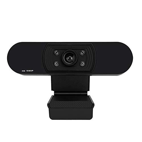 LWAN3 1080P HD Webcam, USB integriertes Mikrofon, 1920 x 1080p Widescreen Video für Videokonferenzen Online-Kurs