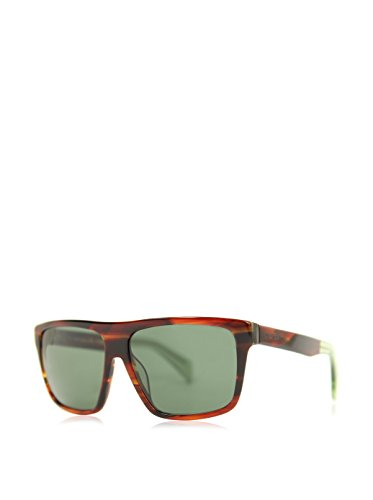 Jil Sander Sonnenbrille JS-722S-214 (59 mm) braun/grün