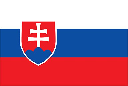 "TrendClub100® Fahne Flagge ""Slowakei Slovakia SK"" - 150x90 cm / 90x150cm"