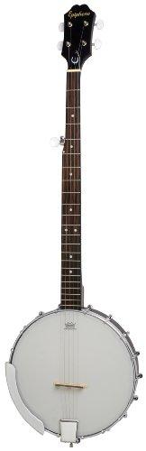 Epiphone MB-100 Banjo - Guitarras acústicas con cuerdas metálicas, color natural