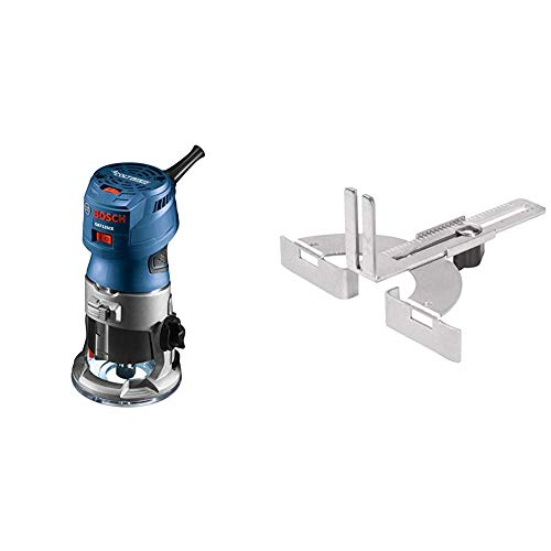 Bosch Router Tool, Colt 1-Horsepower 5.6 Amp Electronic Variable-Speed Palm Router PR20EVS