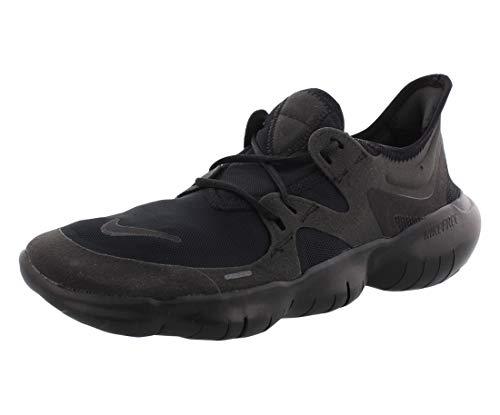 Nike Herren Free RN 5.0 Laufschuhe, Schwarz (Black/Black-Black 006), 41 EU